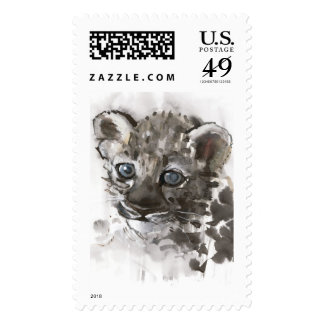 Blue Eyes Postage Stamps