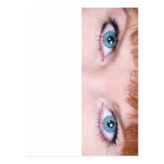 Blue Eyes Postcard