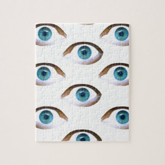 blue eyes puzzles