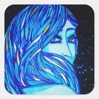 Blue Eyes Sticker