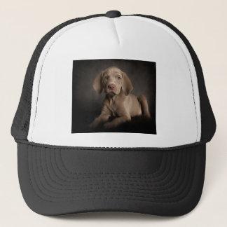 Blue eyes trucker hat