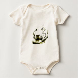 white tiger stripes baby clothes shoes zazzle