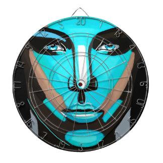 Blue Face Dart Board
