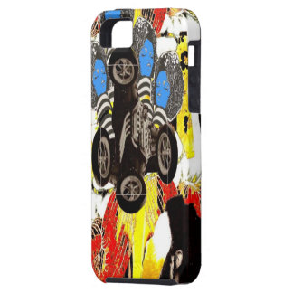 Blue Faces high in the sky (Ezekiel's chariot) iPhone SE/5/5s Case
