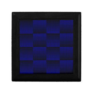 Blue Fade-away Trinket Box