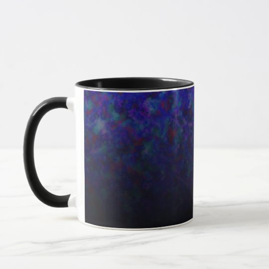 Blue Fade Customizables Mug