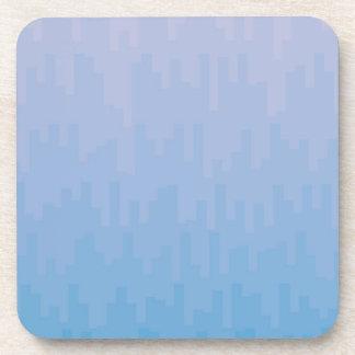 Blue Fade Drink Coaster