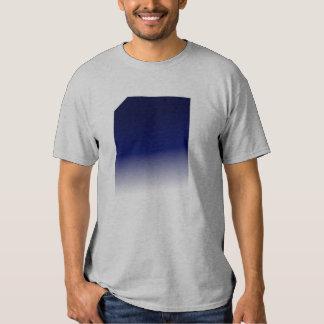 blue fade tee shirt