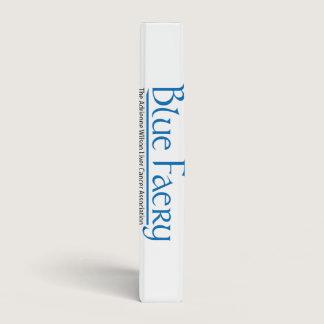 Blue Faery Avery three-ring binder (many sizes)