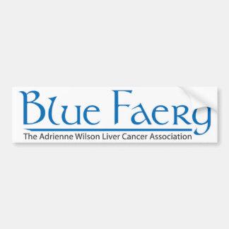 Blue Faery Bumper Sticker