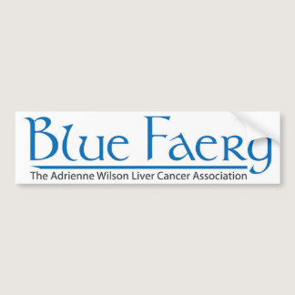 Blue Faery Bumper Sticker