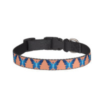 Blue Faery dog collar (many colors & three sizes)