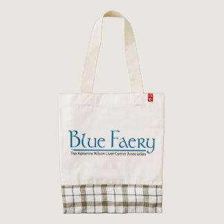 Blue Faery HEART tote