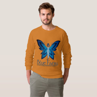 Blue Faery men's raglan sweatshirt