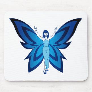 Blue Faery mouse pad