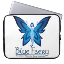 Blue Faery Neoprene laptop sleeve (three sizes)