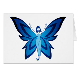 Blue Faery note cards (envelopes included)