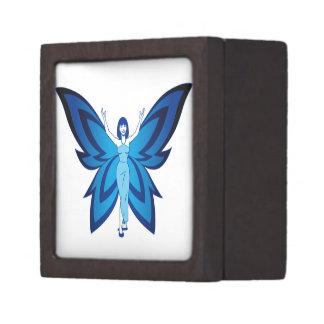Blue Faery premium jewelry box (small)