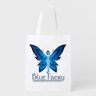 Blue Faery resuable grocery bag