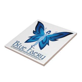 Blue Faery small square tile