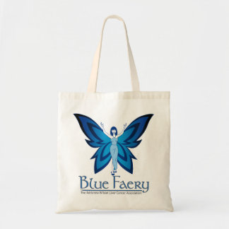 Blue Faery tote bag (many styles)