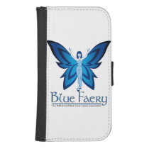 Blue Faery wallet cell phone case (many styles)