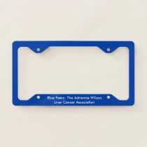 Blue Faery's Very Blue license plate frame