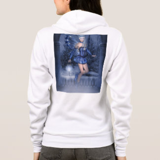 Blue fairy and lamplighter hoodie