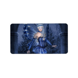 Blue fairy and lamplighter label