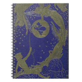 Blue Fairy Book Cover Fantasy Fairytale Notebooks