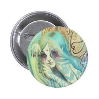 Blue Fairy Button