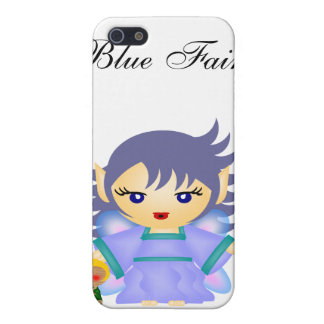 Blue Fairy Case For iPhone SE/5/5s