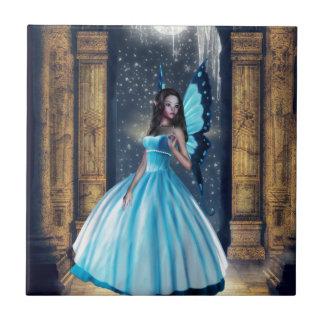 Blue Fairy Ceramic Tile