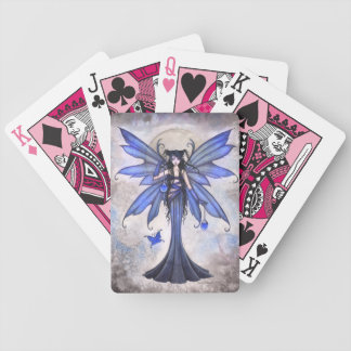 Blue Fairy Fantasy Art Playing Cards