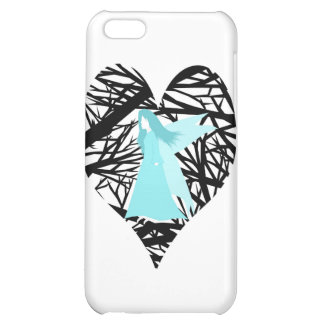 Blue fairy in the tree iPhone 5C case
