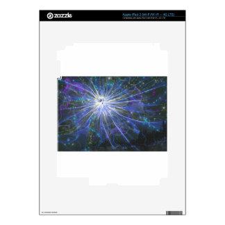 Blue fairy iPad 3 skins