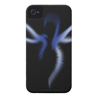 Blue Fairy Light iPhone 4 Cover