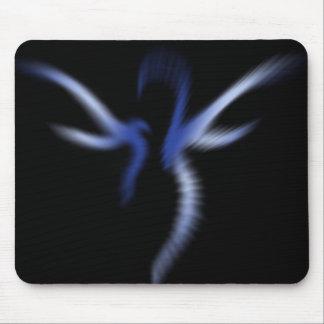 Blue Fairy Light Mouse Pad