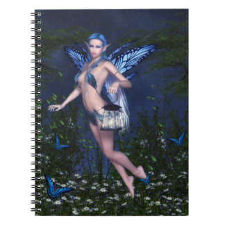 Blue Fairy Notebook