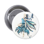 blue fairy pinback button