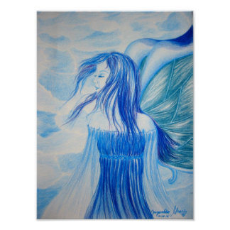 ~ Blue Fairy ~ Poster