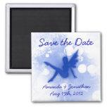 Blue Fairy Save the Date Fridge Magnets