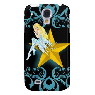 Blue Fairy Sitting on a Yellow Star iPhone3G Galaxy S4 Case