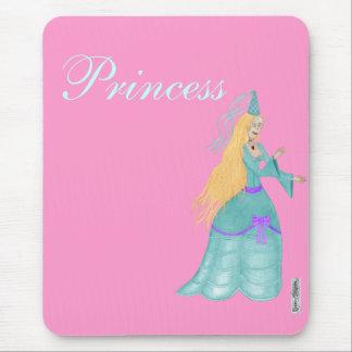 Blue Fairytale Princess Mousemat Mouse Pad