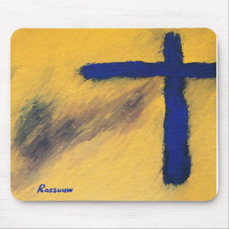 Blue Falcon by Rossouw Mouse Pads