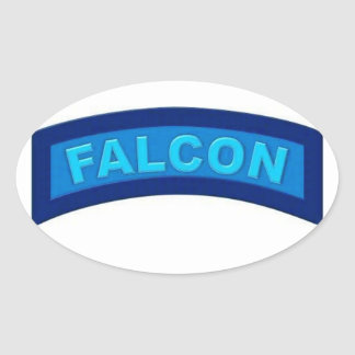 Blue Falcon Stickers