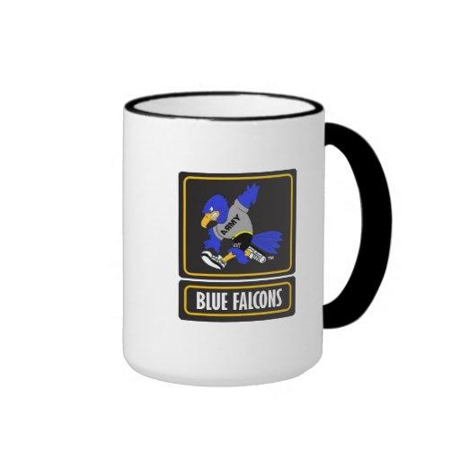Blue Falcons Ringer Mug