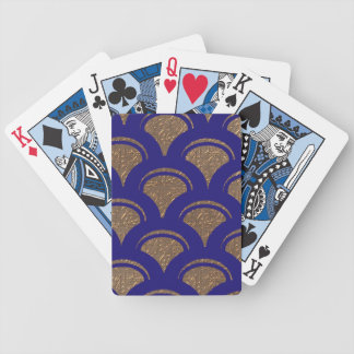 blue fan bicycle playing cards