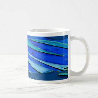 Blue Fan Classic White Coffee Mug