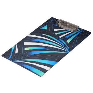 blue fan clipboard